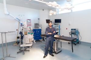 Dr Masrour at work